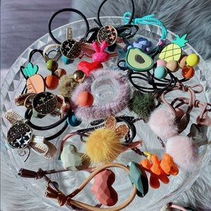 Hair tie lots $4 each come and look